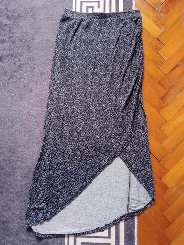 Suknja lepog dezena,na lastis