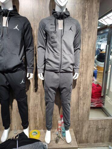 Nike Trenerke NOVO-Sive i Crne-Extra Kvalitet-Model 2020/21   Dostupne