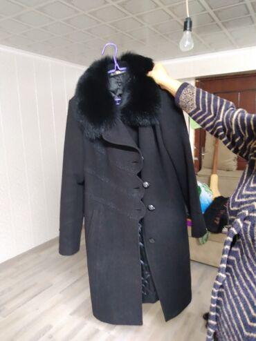 Продаю пальто бу . раз 48 . 50. сост . от. 3 мин сом баасы
