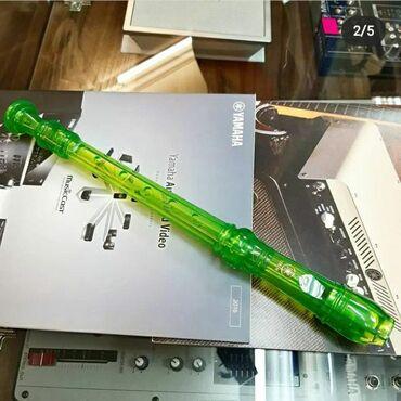 """Флейты - Бишкек: Блок-флейта сопрано для начинающих от фирмы """"YAMAHA""""•Модель"""