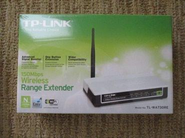 роутеры-tp-link-купить-бишкек в Кыргызстан: Усилитель WiFi TP-LINK TL-WA730RETP-Link TL-WA730RE - ретранслятор