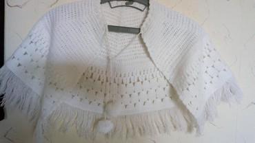 Dečija odeća i obuća | Kraljevo: Ogrtac za decu nov pamuk. duz. sa resama. 35cm