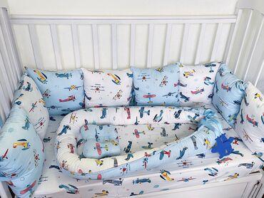 набор для новорожденных в Кыргызстан: Бортики в кроватку В Наличии️ Цена на набор:  •Борти