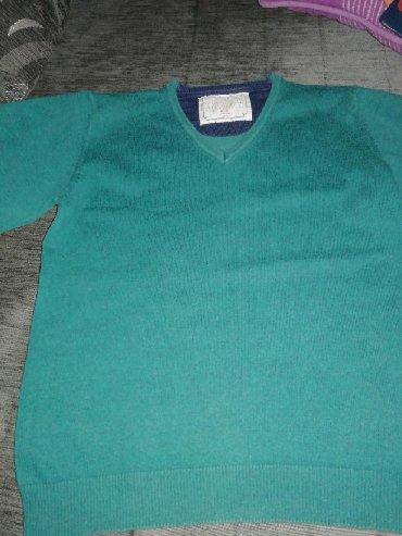 Ostala dečija odeća | Obrenovac: Zara zeleni džemper za dečaka za 5-6 godina