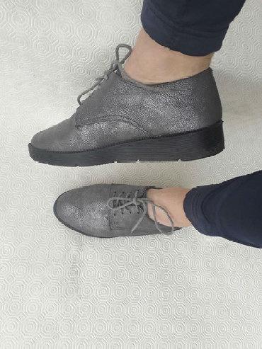 Ženska obuća | Valjevo: Opposite - broj 37. Prelepe - srebrne - jako udobne. Broj 37