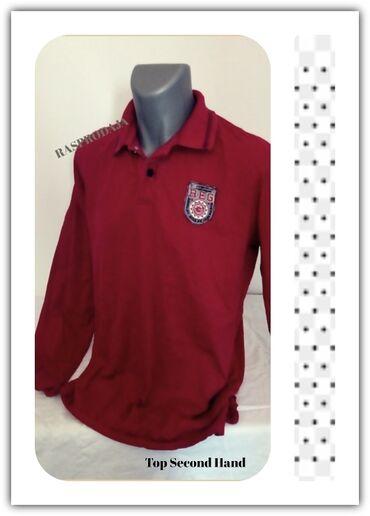 Polo majice - Srbija: 6.2.Tom Tailor crvena majica L-26.9.✼Tom Tailor duks majica sa