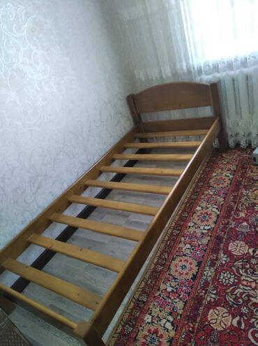 634 объявлений: Продаю абсолютно новую деревянную кровать. Размеры 80х190 + Абсолютно