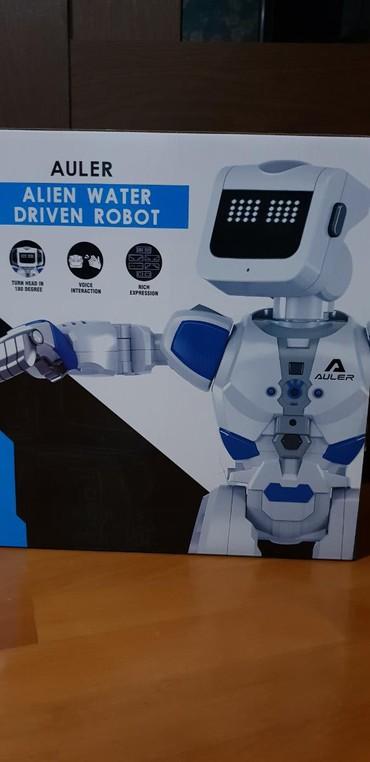 robot konstruktorları - Azərbaycan: Robot model : auler alien water driven robot