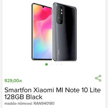 Yeni Xiaomi Mi Note 10 128 GB