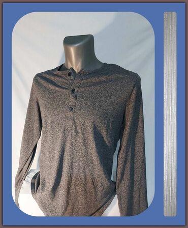 Polo majice - Srbija: 6.2. Odlična siva muška majica M-26.9.✼Siva muška majica, H&M