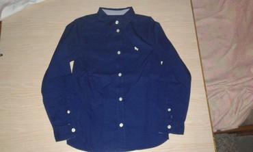 Ostala dečija odeća | Smederevo: Kosulja za decake br.134, kupljena u H&M, teget boje, ne ostecena