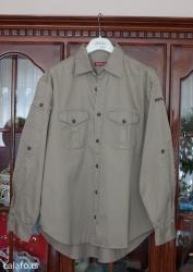 Veoma kvalitetna, original replay košulja, krem boje, vel. L, - Belgrade