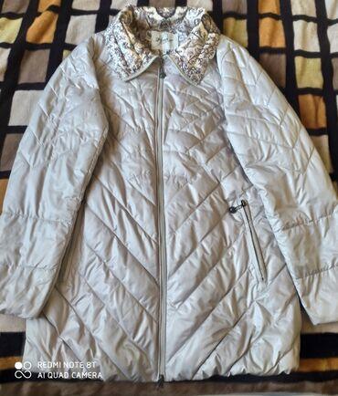 пуховики на зиму в Кыргызстан: Куртка б/ у состояние отличное. Турция. Размер 46-48, весна- осень