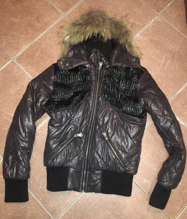 Zimske jakne sa krznom - Srbija: Zimska jakna, nova M sa pravim krznom