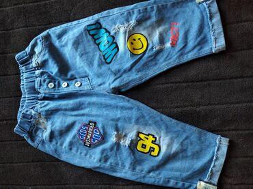 Продам джинсовый костюм и джинсы до колен на девочку лет 5 до 7 две