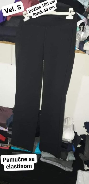 Pamuk-kvalitetne-pantalone - Srbija: Trenerke vel. S pamuk sa elastinom Kvalitetne. Dimenzije na slici