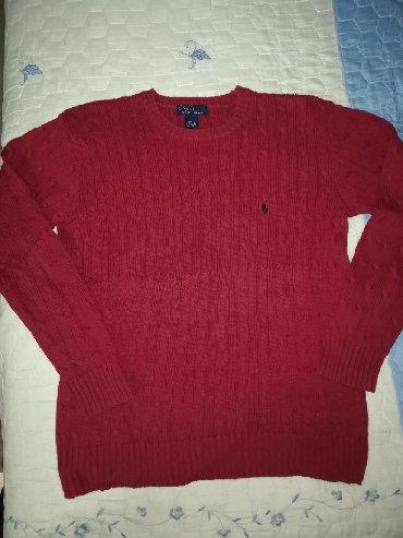 Bordo dzemper - Srbija: Ženska džemperi Ralph Lauren XL