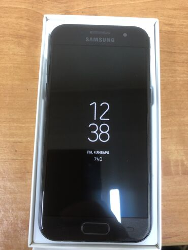 сканер mustek a3 в Кыргызстан: Б/у Samsung Galaxy A3 16 ГБ Черный
