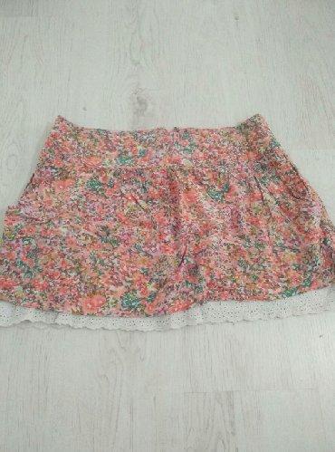Cvetna, letnja suknja. Veličina 10. Odgovara S/M veličini