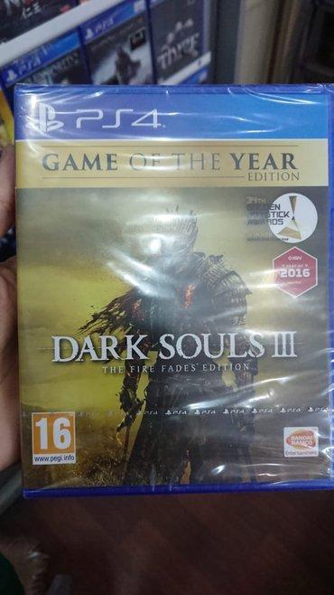 Bakı şəhərində Dark souls 3