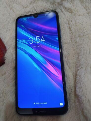 Farmerice plave tamno - Srbija: Na prodaju mobilni telefon HUAWEI Y6 2019 god. u boji safirno plavoj