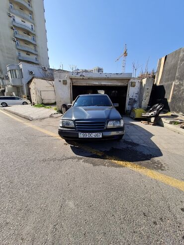 boz rəngli qadın ayaqqabıları - Azərbaycan: Mercedes-Benz C 180 1.8 l. 1997 | 217400 km