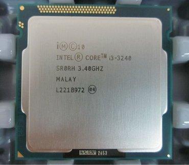 Продаю процессор Core i3-3240  сам камень. В отличном состоянии. в Бишкек