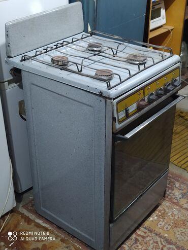 Техника для кухни - Кыргызстан: Газовая плита в отличном состоянии мы находимся в 12 микрараене