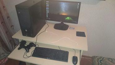 Sumqayıt şəhərində Ram 8gb vidyo kart 4gb 512 bit usdunde stoluda klaviyatura miska
