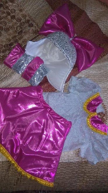 детские народные костюмы в Кыргызстан: Продается новогодний детский костюм куколки Лол. Был надет 1 раз