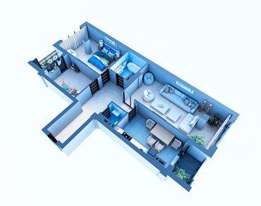 квартира рабочий городок в Кыргызстан: Продается квартира: 3 комнаты, 113 кв. м