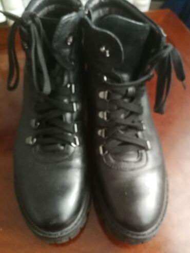 Cizme 40 - Srbija: Zenske kozne cizme ne nosene br 40