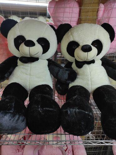 Мишки панда размер 130 см   большие качественные мишки по доступным це