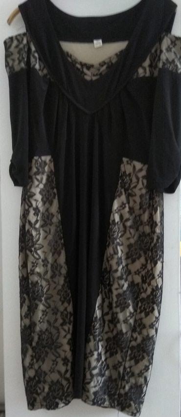 платья для полных в Кыргызстан: Одежда для полных. Платье б/у, но выглядит как новое, 52-54 размер