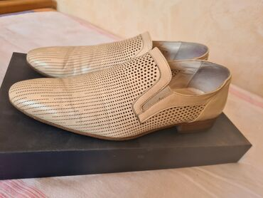 Мужские туфли Luigi Traini, Италия Натуральная кожа 38 большемерят