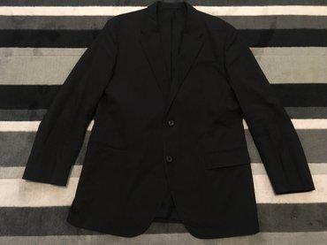 Muška odeća | Kikinda: HUGO BOSS crni sako vel.54