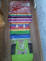 Çantalar təzədir, hamısı 10 azn.e satılır