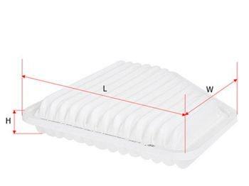 Hava filteri  TOYOTA CAMRY 06- 3.5L/Rav 4 III (A30)  Hava Filteri Saku