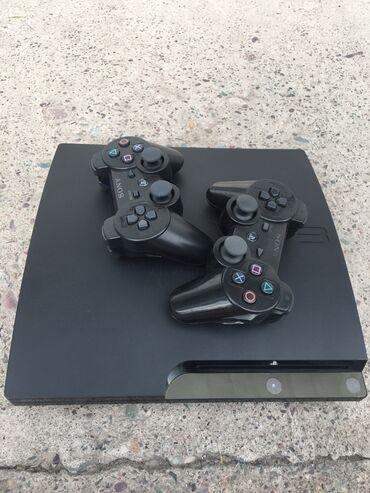 джойстик от ps3 к компьютеру в Кыргызстан: Продаю Playstation3(прошитая), 111g4 игры, 2 джойстикаВсе шнурыPS3 В