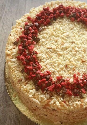 Торт Наполеон - Рецепт Бабушки Эммы наполеон выполнен из нежнейших