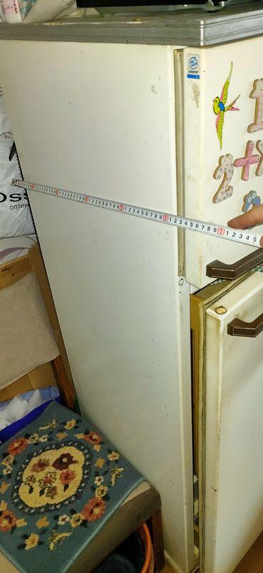 мини поля бишкек в Кыргызстан: Б/у Двухкамерный Белый холодильник Минск