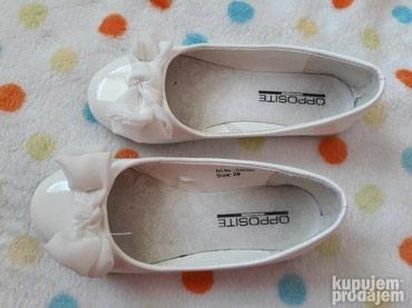 Dečije Cipele i Čizme | Uzice: Prodajem baletanke za devojcice, nosene svega par puta, br.28, u