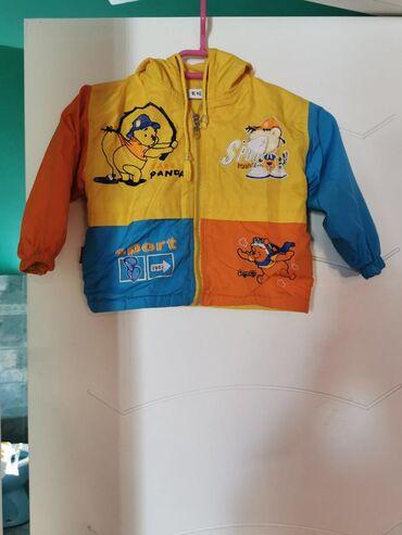 Dečija jaknica tanja za uzrast od godinu dana