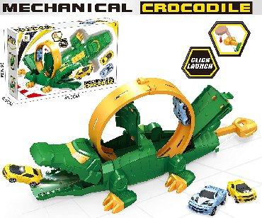 "Авто трасса mechanical crocodile здравствуйте, компания ""okitoys"""