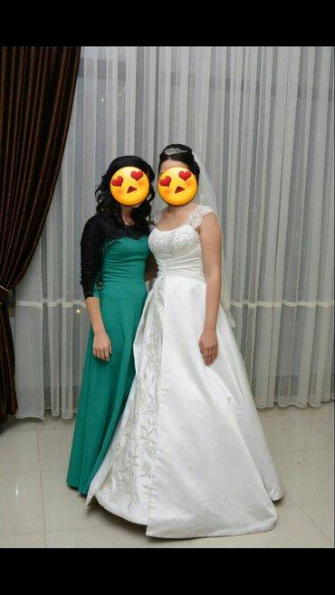 Продам свадебное платье в отличном состоянии  в Бишкек