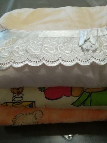 Kućni dekor - Vranje: Paket 2 kom prekrivača za bebe oba za 650 din:1. Topli prekrivač sa