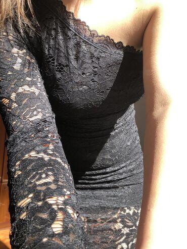 Čipkana haljina M/L