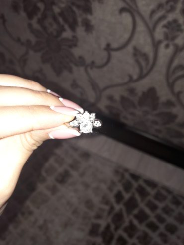 Продаю кольцо(серебро),размер 16-16,5. в Бишкек