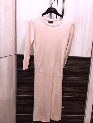 Roze, pamučna haljina, S/M vel. Nošena par puta, bez oštećenja.  - Kragujevac
