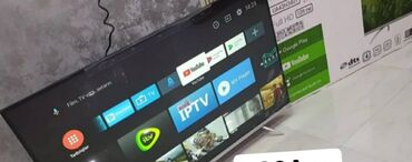 4 ilə audi - Azərbaycan: 2020 buraxilis tarixli- Artel 43 109Smart Android 9 Çərçivəsiz monolit